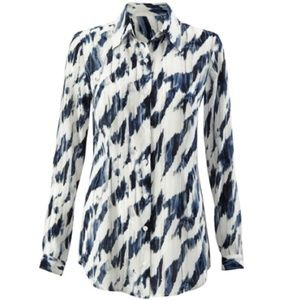 Cabi - Moody Blues Button Blouse 3096